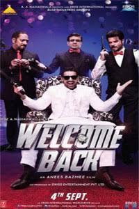 Who is name of Paresh Rawal's character in movie Welcome back? (hint: it is same as that in first movie of the series-Welcome)