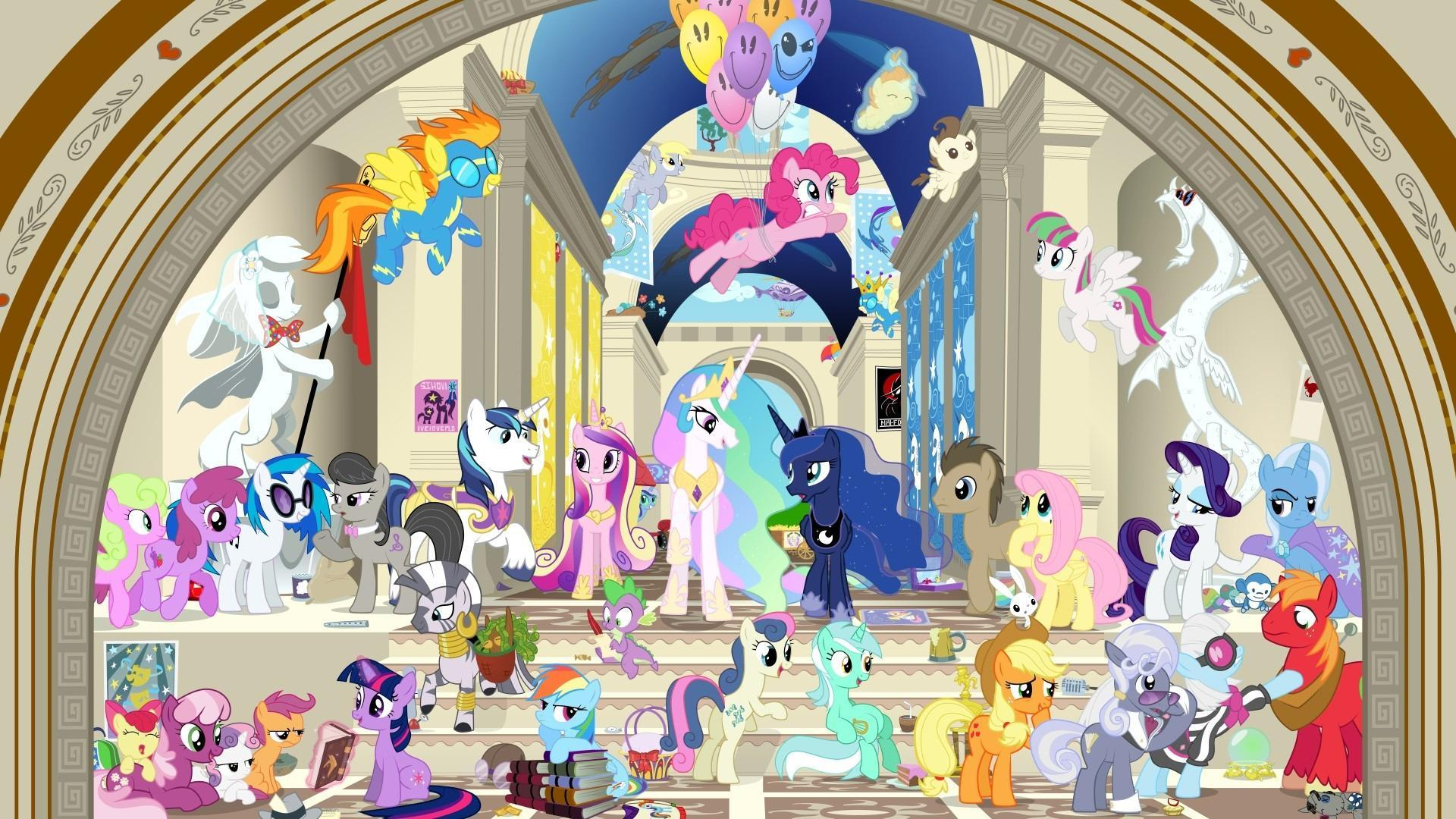 How much of your day is ponies?