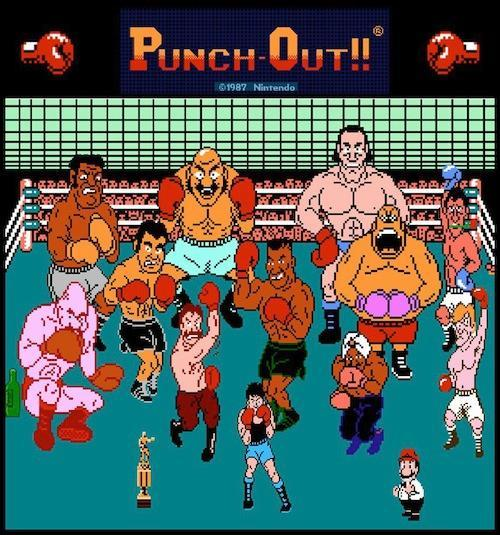 Who is the third opponent in Mike Tyson's Punch Out?