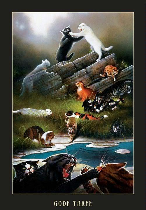 You are ambushed by a Clan once again! What do you do against the RiverClan cats?