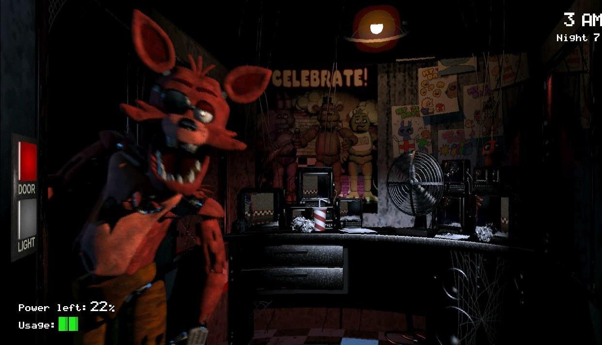 True or False: Foxy can't attack on Night 1.