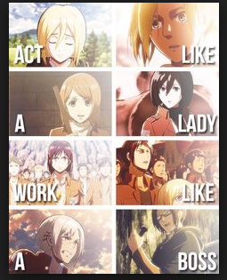 Who's your favorite female character?