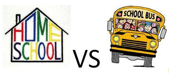 a comparison on the benefits of home schooling and public education