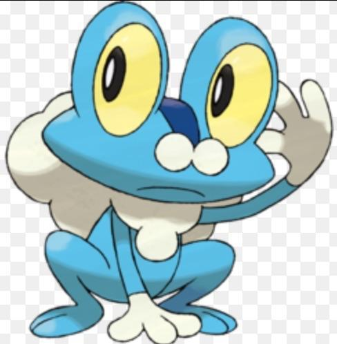 Froakie: Do you like water?