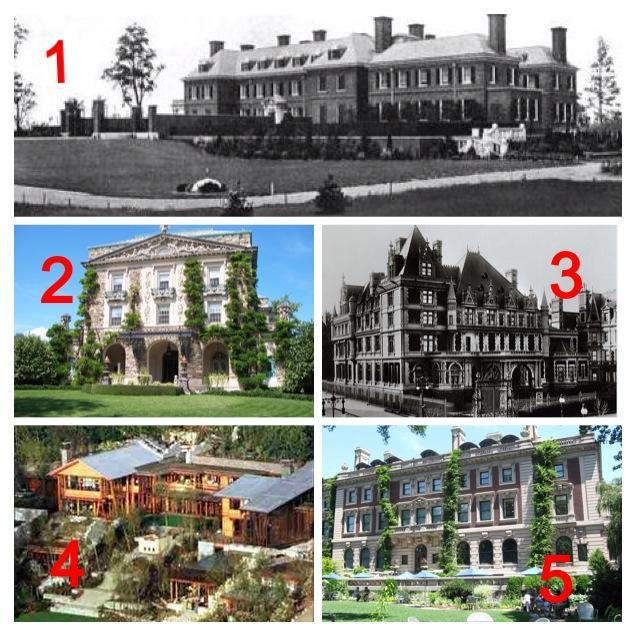 Which mansion would you want to live in?