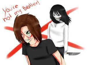 What is Jeff the Killer's brothers name?