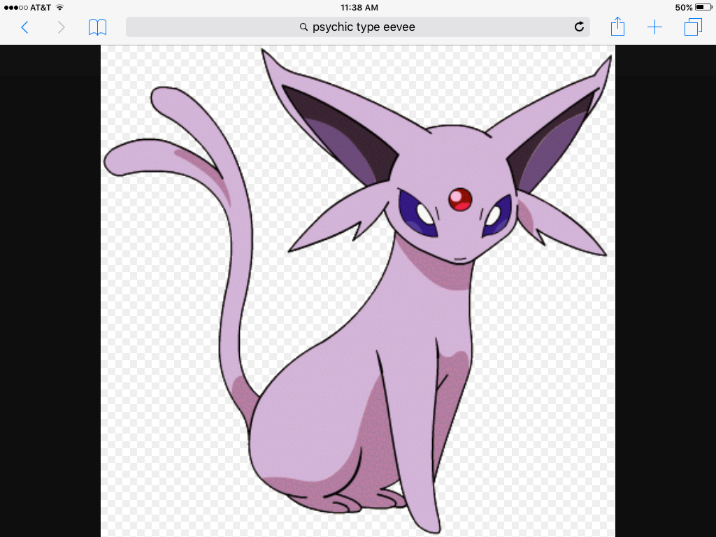 catgiraffe: Let's go Espeon.  Espeon: Okay.... do you like psybeam?
