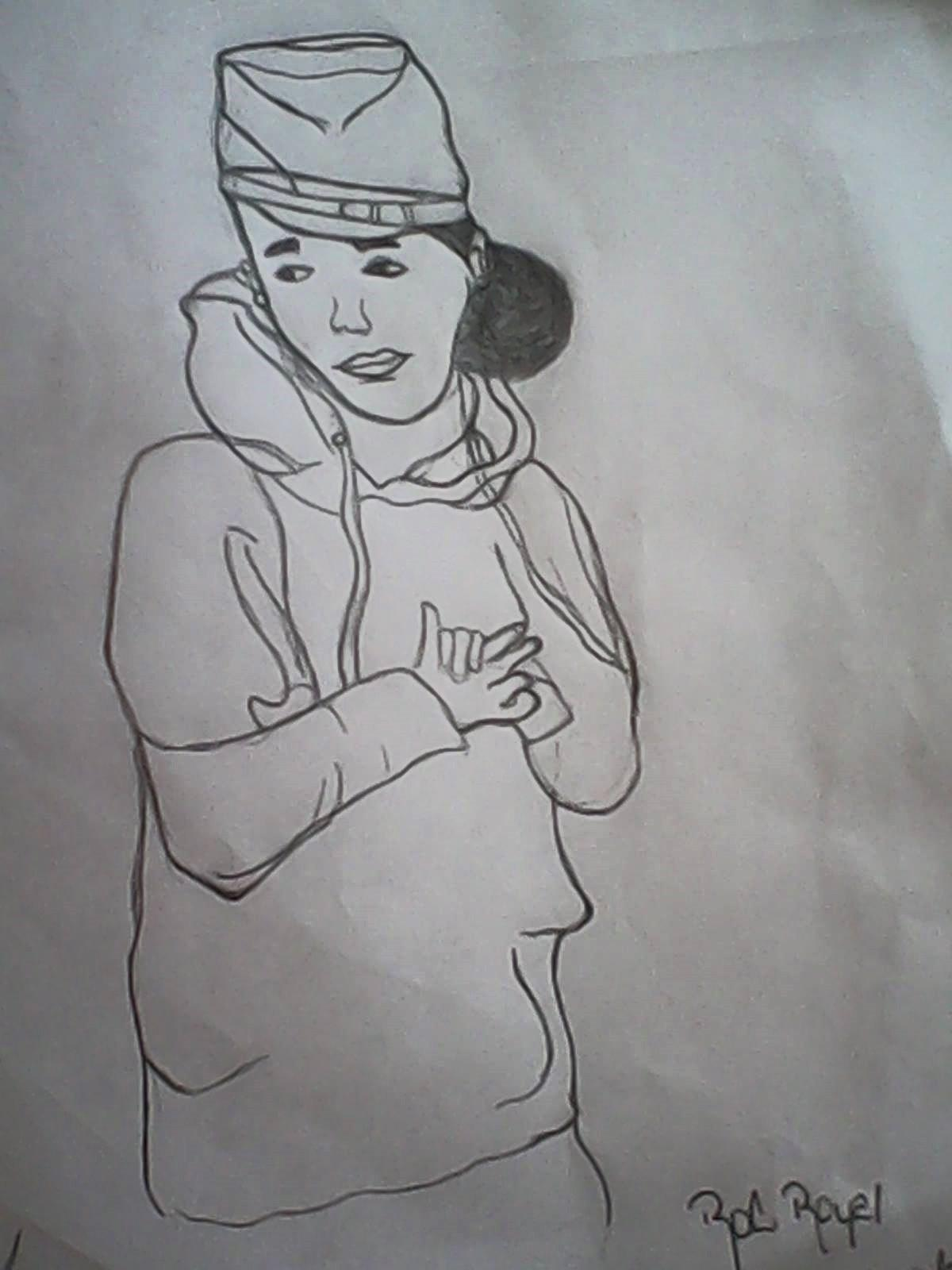 Which DG member drew this pic of Roc Royal?