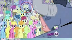 In the Episode May the Best Pet Win Where is derpy In the Backround?