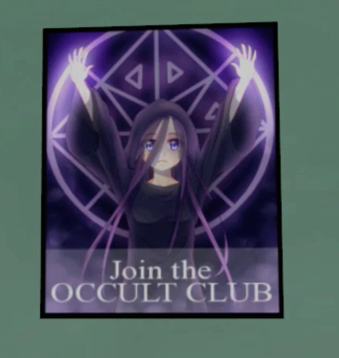 How many members does the Occult club have?
