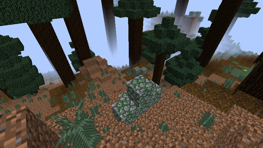 In which biome can HOSTILE mobs not be spawned in? (That's nice. Away from Mr. Creeper I am!)
