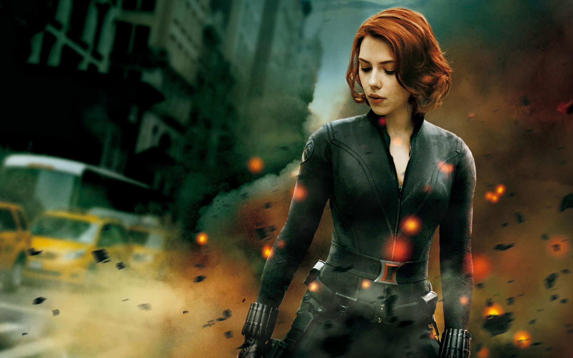 "Who does Black Widow consider to be ""the Big Guy"" in the first Avengers?"