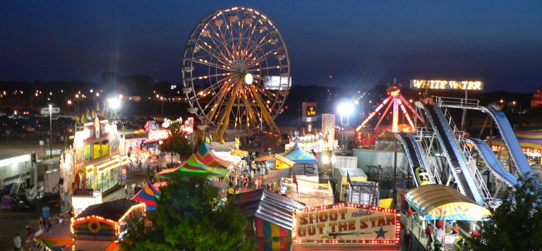 What do you want to do first when you go to an amusement park/fair/carnival, etc.