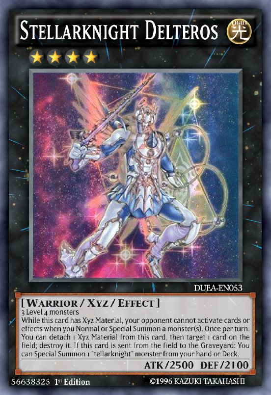 "Cameron controls a face-up ""Stellarknight Delteros"" with Xyz Materials. He Normal Summons ""Satellarknight Vega"", activates its effect, Special Summoning ""Satellarknight Altair"", then activates the effect of ""Satellarknight Altair"", Special Summoning ""Satellarknight Deneb"", activates the effect of ""Satellarknight Deneb"", adds a card from their Deck to their hand, then activates ""Night Beam"". Select the correct answer :"