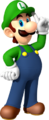 Every Halloween, Luigi's front door is so shiny, you can't see anything! What's Luigi giving out?