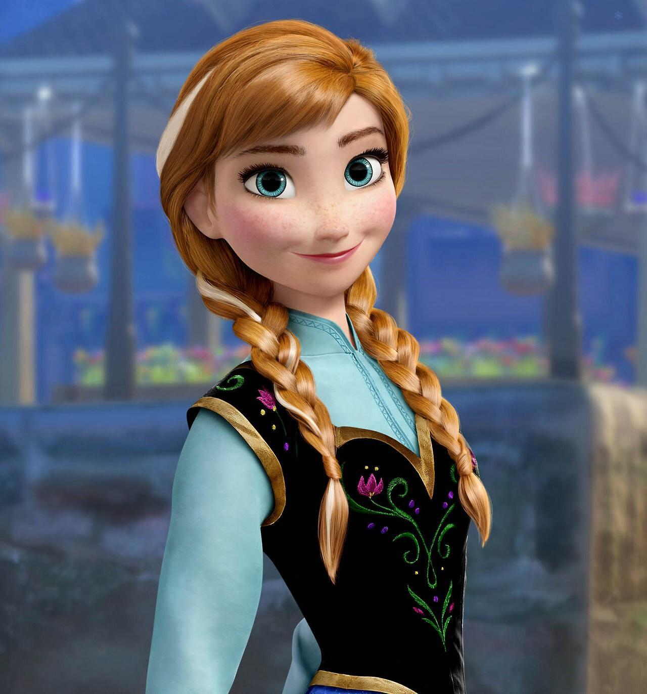 Who voices Anna?