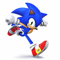 """Sure, come on in! I'm Sonic, by the way, Sonic the hedgehog!"" You look at him, smiling slightly as you step inside the amazingly warm house (^w^) You look around, in awe. ""What's your name?"" Asks Sonic, grinning at you and doing a thumbs up"