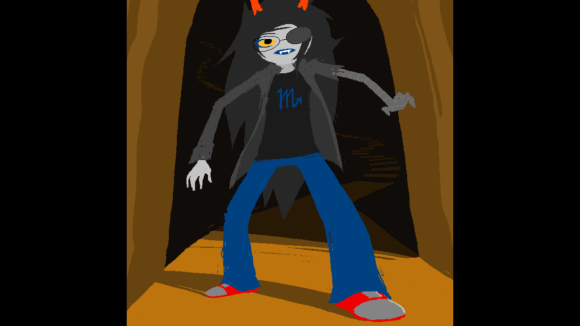 Why is Vriska attracted to the #8 ?