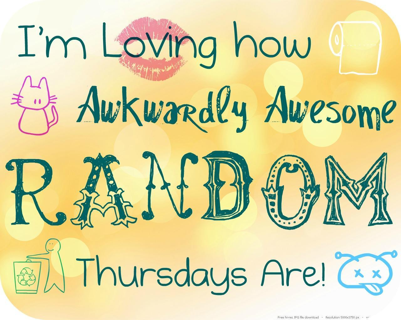 Do you love how Random you are?