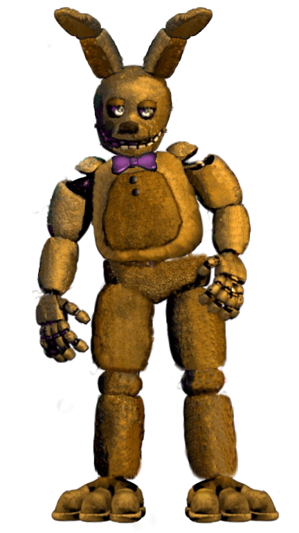 Is SpringBonnie in FredBear's Family Diner?