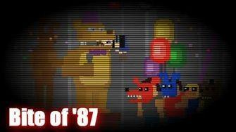 What was your reaction to the minigame and the fact the other kids made Fredbear bite the child's head?