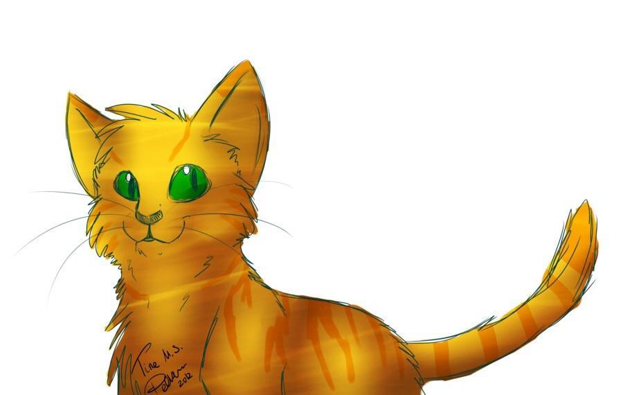 Who was firepaw's first crush?