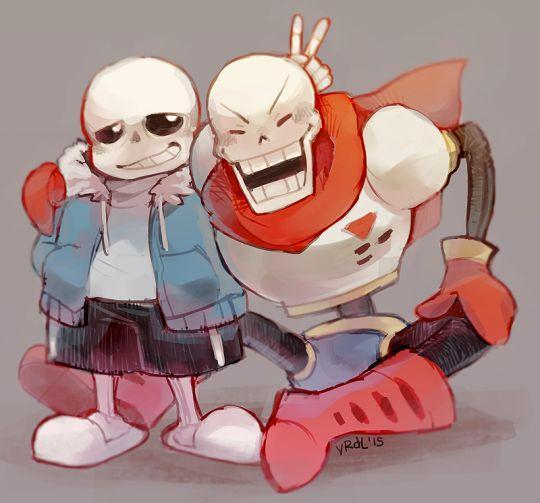 Me: Question 2! what is the name of Sans and Papyrus Father/Creator?