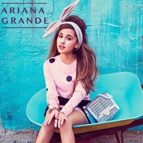 What Broadway show was Ariana Grande in when she was a teenager, AND how old was she?