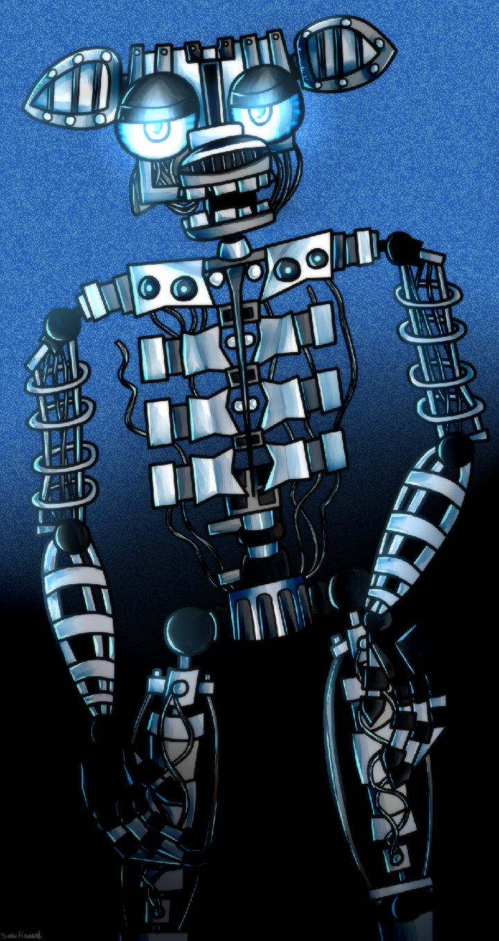 does Bonnie have an endoskeleton?