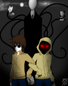 Does Slender Man,Masky,and hoodie like you? - Personality Quiz