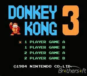 What is the name of the character in Donkey Kong 3
