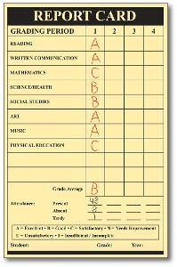 On Average, What Grades Do You Receive in Your Classes?