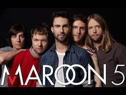 What songs are there in Maroon 5 which are listed?