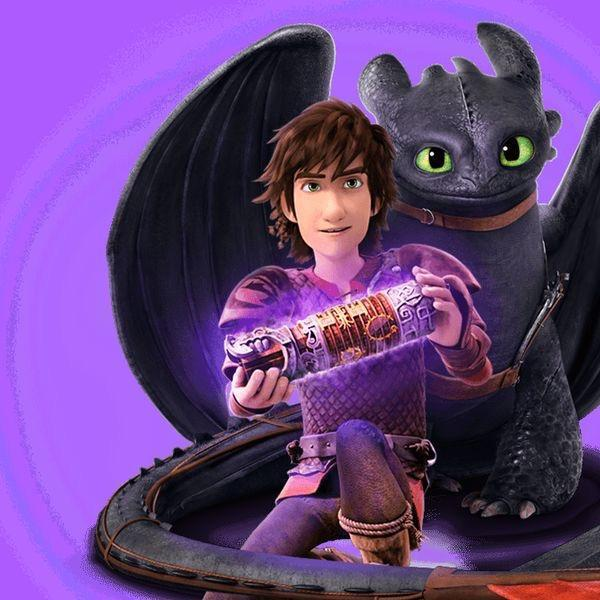 What is the new device that Hiccup and his dragon riders found in season 1?