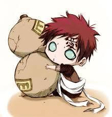 what element does gaara use in his skills