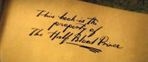 In the sixth book, Harry got a Potions textbook that had helpful notes in it written by: