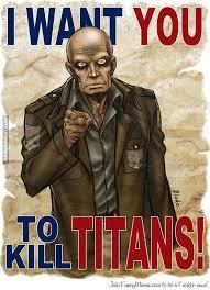 Why do you want to kill titans?