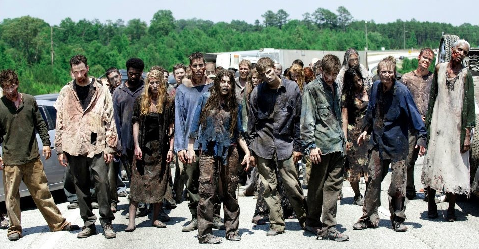 You find a small group of Walkers, you ;