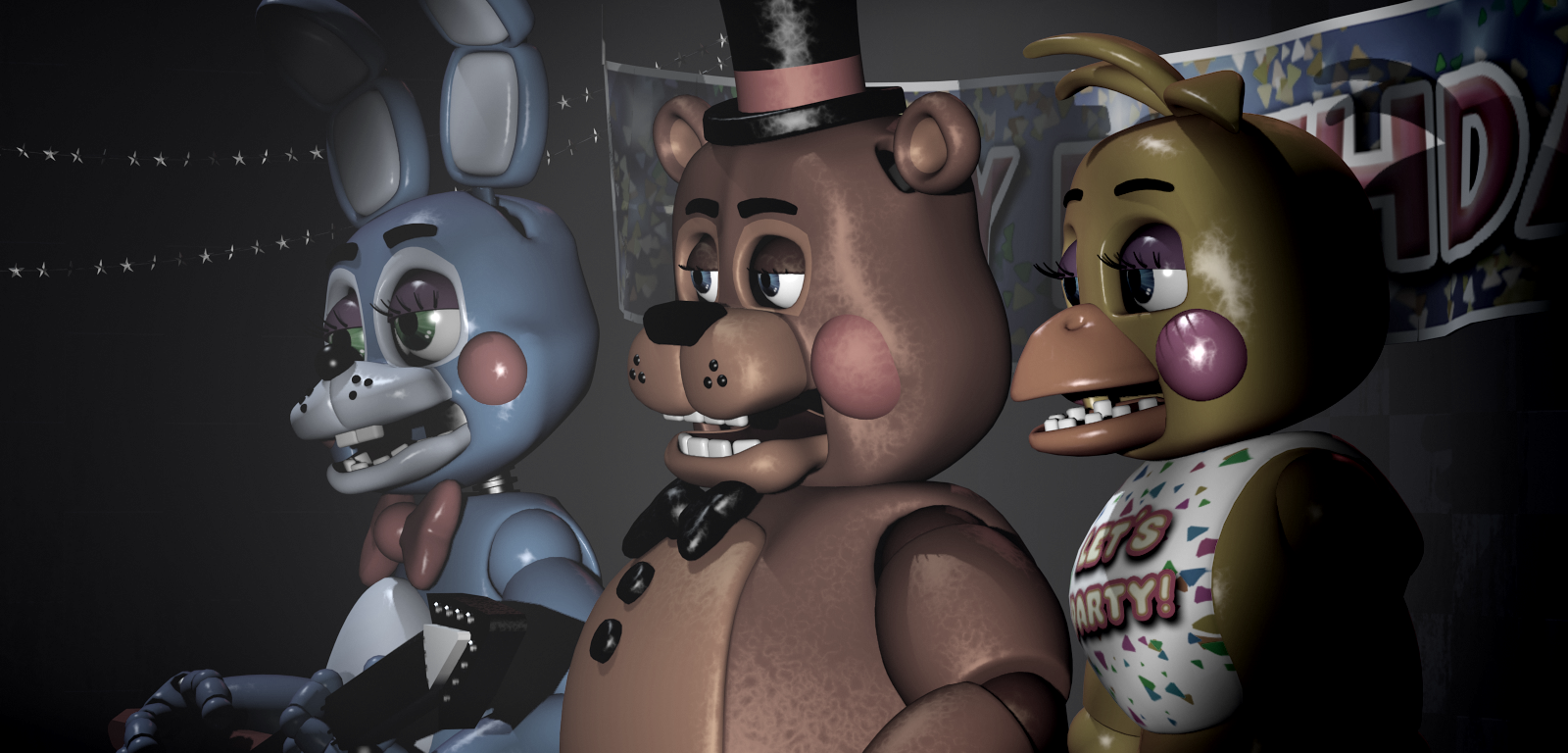 Besides from the 1st game, Which of these are the names of the Toy Animatronics in the 2nd game?