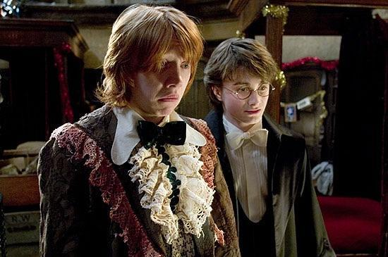 Why did Harry and Ron need dress robes?