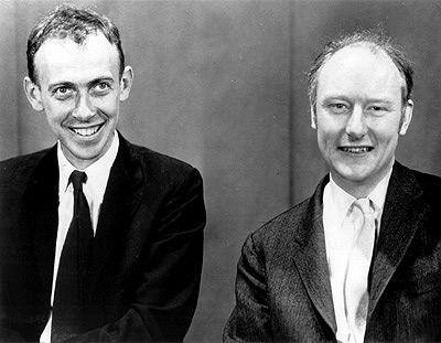 What did Francis Crick and James D.Watson discovered ?