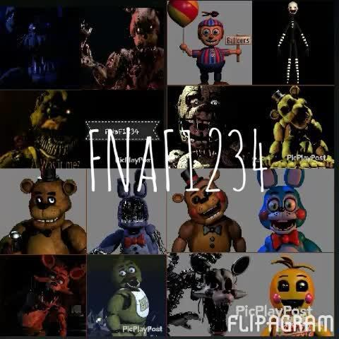Which fnaf game do you like the most?