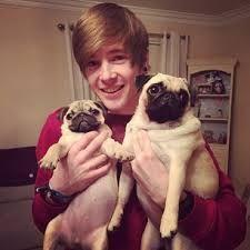 what are the names of his pugs