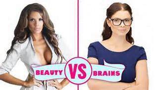 What matters more, beauty or brains?
