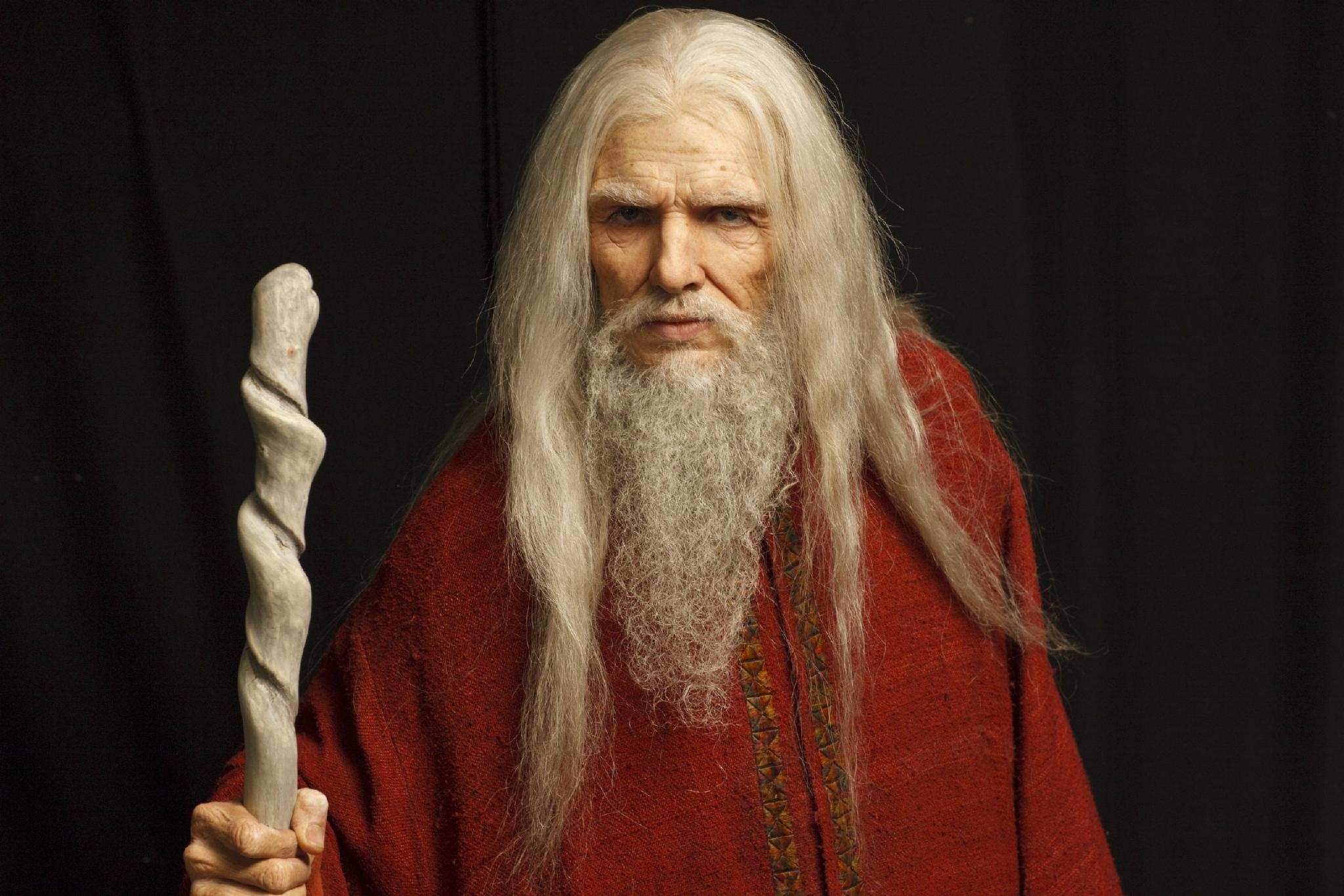 What is Merlin's name to the druids? (The most powerful sorcerer who ever lived!)