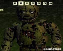 Who is inside Springtrap?