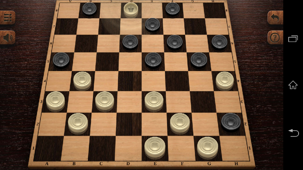 Two men play 7 games of checkers. Each wins an equal number of games and yet, there are no ties. How is this possible?