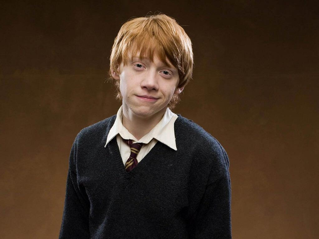 What is Ron Weasley's blood status?