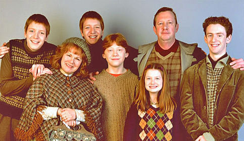 Who are Ron weasley's siblings?