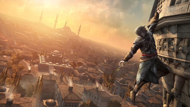 Who gives the hookblade to Ezio in Assassin's Creed Revelations?